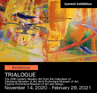 TRIALOGUE The 20th Century Western Art from the Collections of Yokohama Museum of Art, Aichi Prefectural Museum of Art, Toyama Prefectural Museum of Art and Design